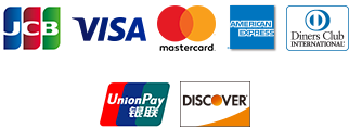 JCB/VISA/Master/AMEX/Diners/銀聯/DISCOVER